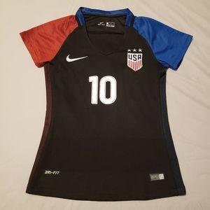 USWNT Carli Lloyd 2016 Nike Dri Fit Soccer Jersey